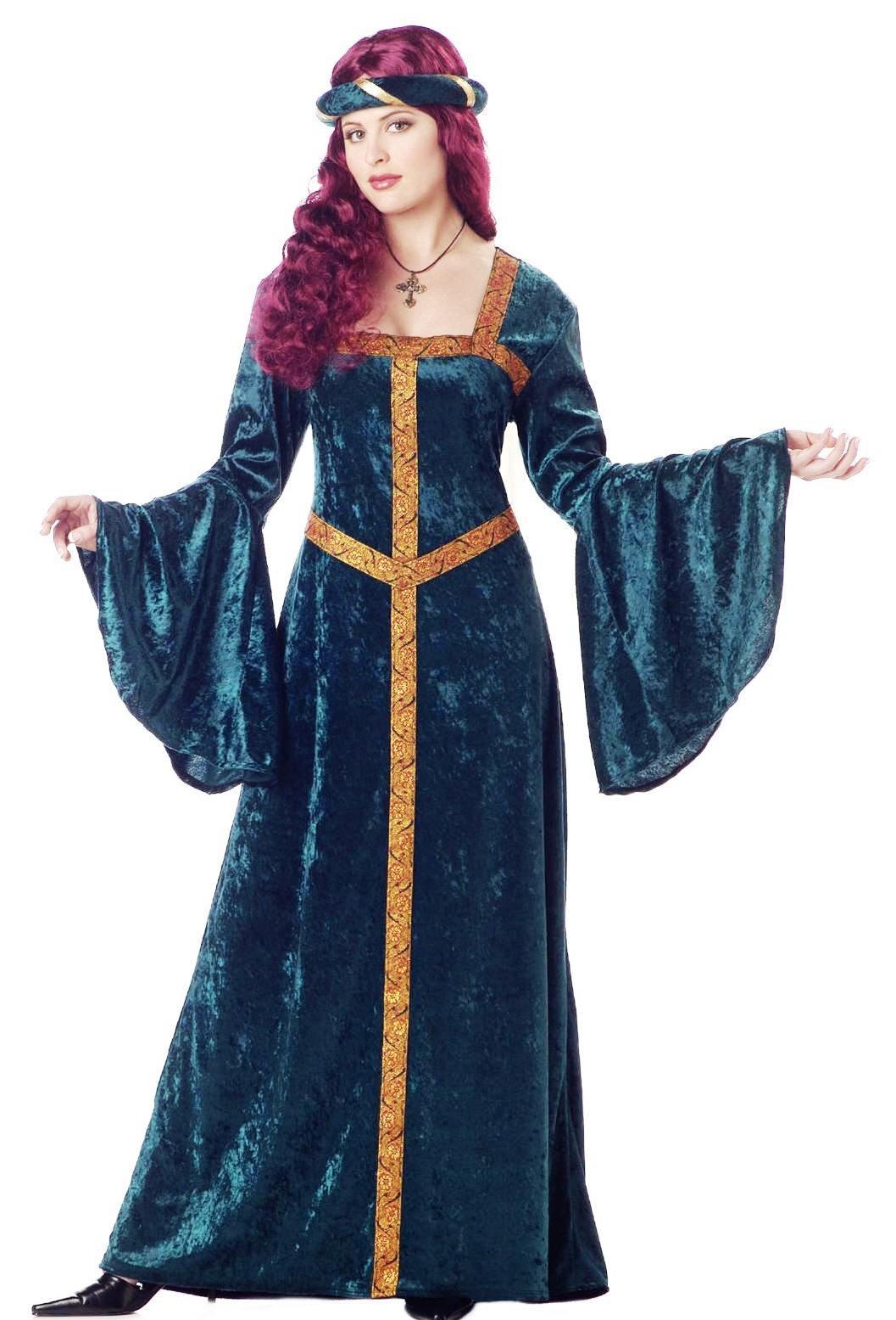Medieval Costumes,Renaissance Costumes,Queen,Princess ...