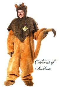 Cowardly Lion Costume  sc 1 st  Costumes of Nashua LLC & Gorilla CostumeMascot CostumesWolfHorseBig FootAbominable ...