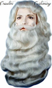 6a7296d66d6 Santa Wig,Santa Wig and Beard,Santa Claus Yak Hair Wig & Beard Set ...