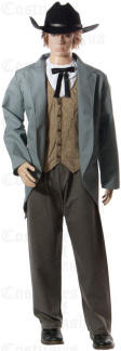 Saloon Girl Costumes Cowboy Costume Cowgirl Riverboat