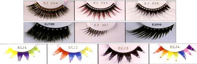 Glitter Band Eye Lashes