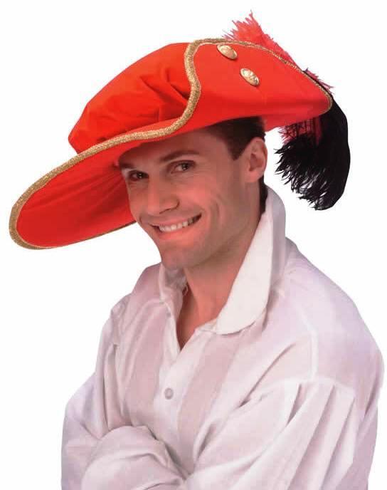 Deluxe Musketeer Cavalier Velvet Hat e39dd63e287
