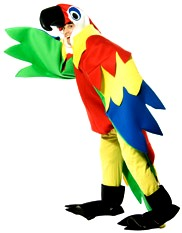 Adult big bird costume rental